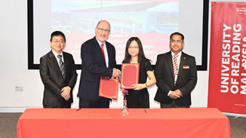 University of Reading Malaysia establishes partnership with Taiwanese university