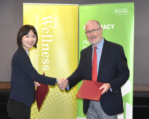 University of Reading Malaysia Forms Partnership with AEON