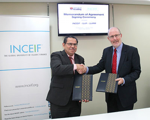 UoR, UoRM and INCEIF Cement Collaborative Efforts in Islamic Finance Education