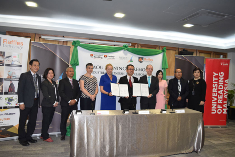 MIM Signs Industrial Partnership Initiative with University of Reading Malaysia and Raffles University Iskandar
