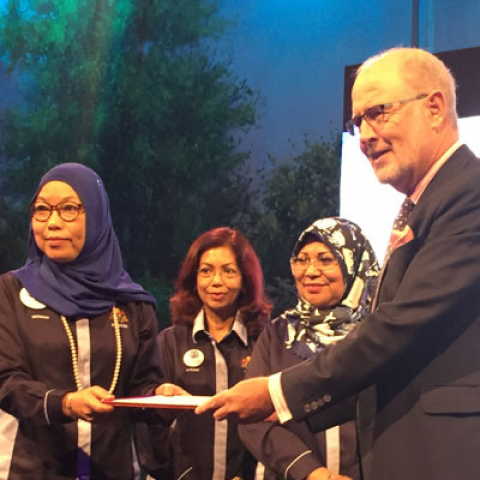 University of Reading Malaysia establishes partnership with Department for Women's Development in effort to empower women, family and community