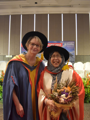University of Reading awards honorary degree to former  Managing Director of KPJ Healthcare Berhad