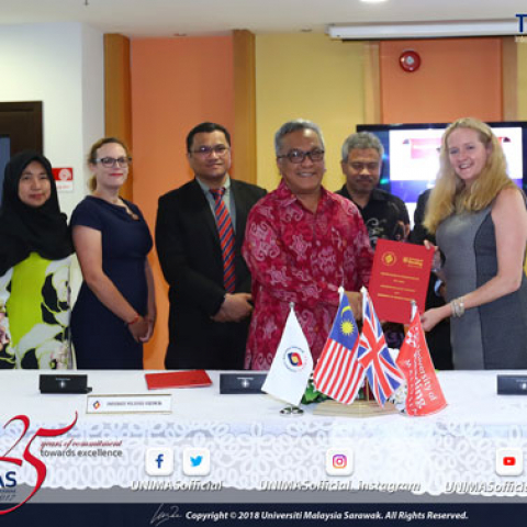 University of Reading Malaysia enters formal partnership with UNIMAS